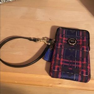 Small Coach Wristlet Wallet